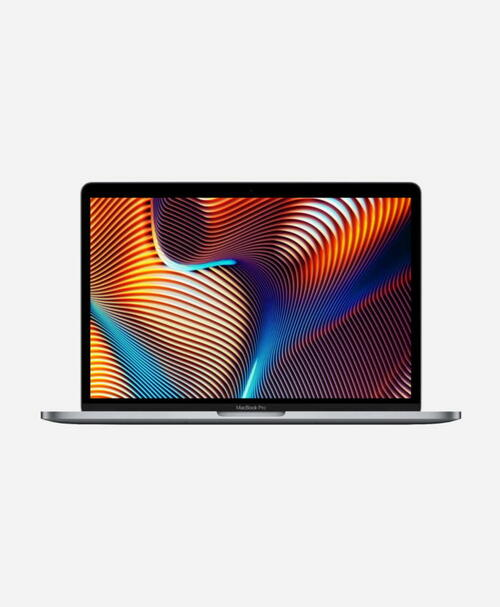 Refurbished Apple Macbook Pro (2019) 13 Space Gray Touch Front