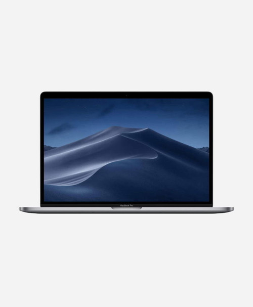Refurbished Apple Macbook Pro (2019) 15 Space Gray Touch Front