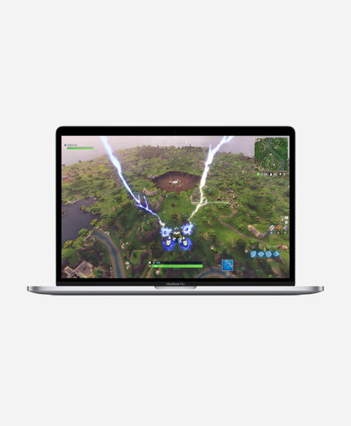 Refurbished Apple Macbook Pro (2019) 15 Silver Touch Front