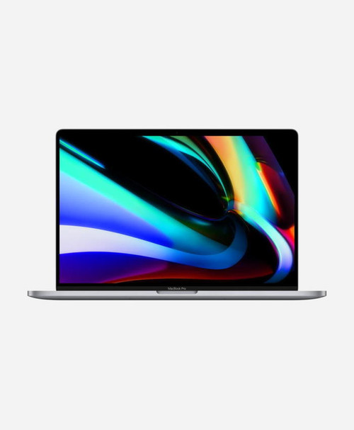 Refurbished Apple Macbook Pro (2019) 16 Space Gray Touch Front