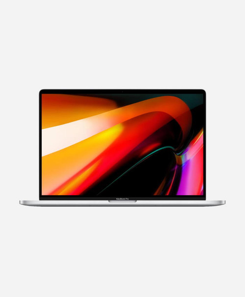 Refurbished Apple Macbook Pro (2019) 16 Silver Touch Front
