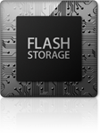 Ultrafast flash storage is used in the cheap Mid 2013 Macbook Air refurbished by GainSaver.