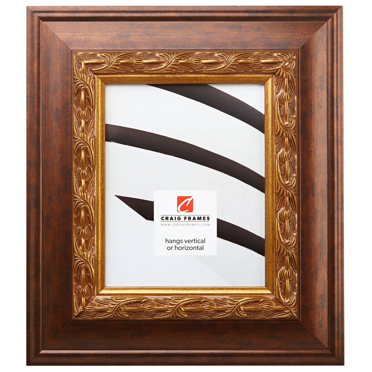 Modern Gold Picture Frame Poster Frame Craig Frames Confetti