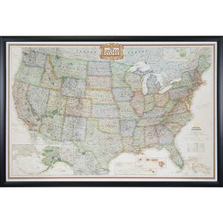 Wayfarer Executive, United States Push Pin Map