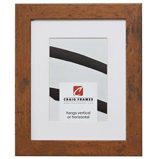 """Bauhaus 125 1.25"""", Matted Light Walnut Picture Frame"""