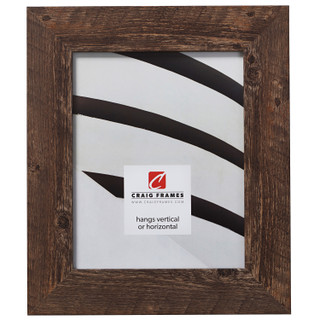 "American Barn 2"", Brown Oak Picture Frame"
