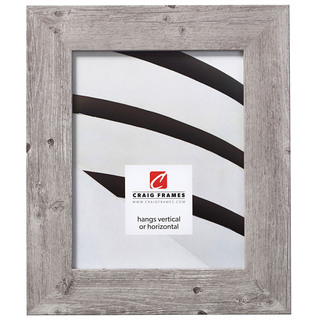 "American Barn 2"", Light Grey Oak Picture Frame"
