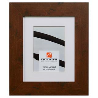 """Bauhaus 200 2"""", Matted Dark Walnut Picture Frame"""