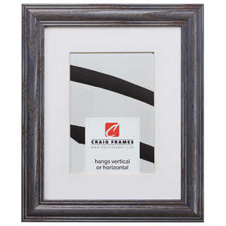 """Wiltshire 440 1.25"""", Matted River Stone Picture Frame"""