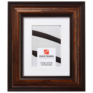 """Potomac 2.5"""", Matted American Walnut Picture Frame"""