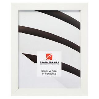 """Confetti .875"""", White Picture Frame"""