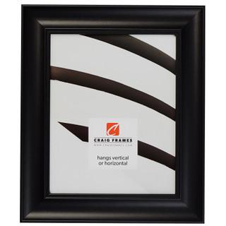 """Vintage Revival 1.75"""", Satin Black Picture Frame"""