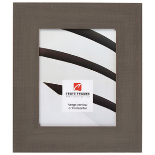 """Jasper Wide 2.5"""", Rustic Whiskey Brown Picture Frame"""