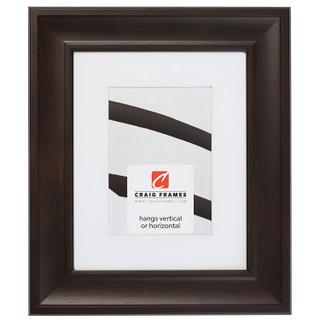"""Martin 2"""", Dark Walnut Brown Matted Picture Frame"""