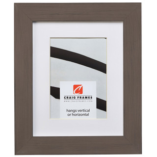 """Jasper 1.5"""", Country Whiskey Brown Matted Picture Frame"""