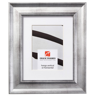 """Revival 2"""", Monza Silver Matted Picture Frame"""