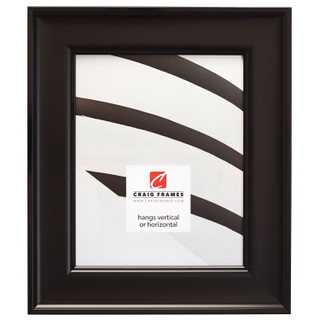 """Resilience 2"""", Satin Black Picture Frame"""