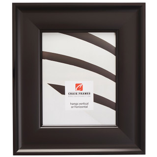 "Resilience Wide 3"", Satin Black Picture Frame"