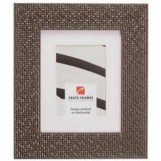 """Glimmer 2.375"""", Matted Pewter Picture Frame"""
