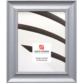 """Vintage Revival 1.75"""", Brushed Silver Picture Frame"""