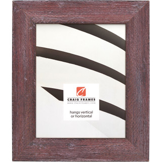 """Hatteras 2"""", Boho Rustic Red Picture Frame"""