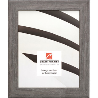 """Farmhouse Essentials 1.25"""", Charcoal Grey Picture Frame"""