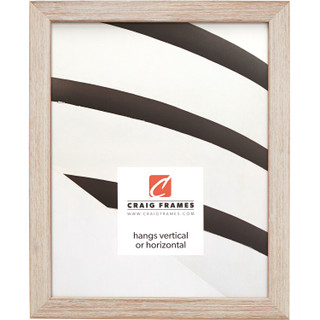 """Farmhouse Essentials Tall .75"""", Weathered White Picture Frame"""
