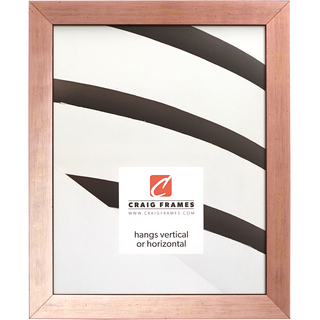 """Milano .75"""", Rose Gold Picture Frame"""