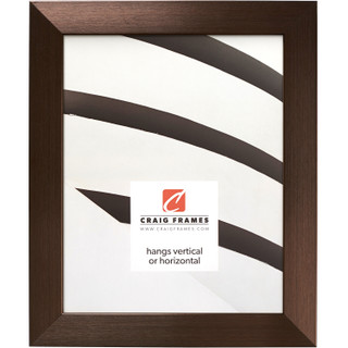 """Modern Aesthetics 125 1.25"""", Brushed Bronze Picture Frame"""