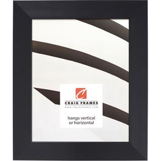 "Modern Aesthetics 150 1.5"", Brushed Black Picture Frame"
