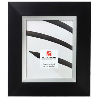 """Ambassador 3"""", Metropolis Black Picture Frame"""