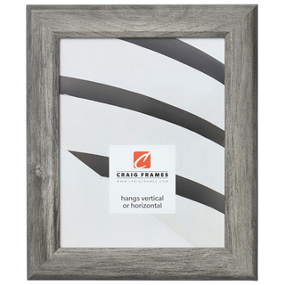 """Arthur 1.5"""", Gray Barnwood Picture Frame"""