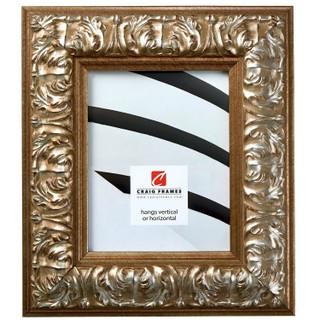 """Barroco 3.125"""", Antique Silver Picture Frame"""
