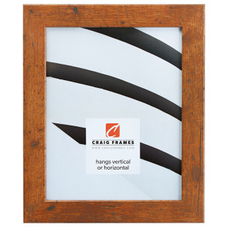 "Bauhaus 125 1.25"", Light Walnut Picture Frame"