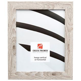 "Bauhaus 125 1.25"", Restoration White Picture Frame"