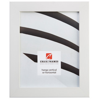 "Bauhaus 125 1.25"", Textured White Oak Picture Frame"