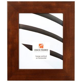 "Bauhaus 200 2"", Mocha Walnut Picture Frame"