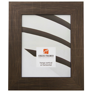 "Bauhaus 200 2"", Scratched Black Picture Frame"