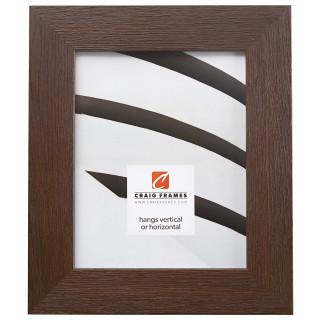"Bauhaus 200 2"", Textured Brown Oak Picture Frame"