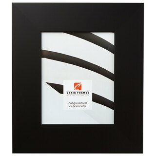 "Bauhaus 300 3"", Black Satin Mica Picture Frame"