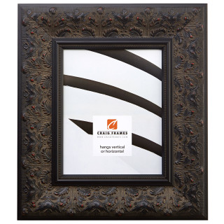 "Borromini 3.5"", Black Walnut Picture Frame"
