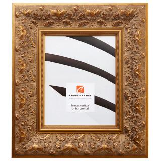 """Borromini 3.5"""", Gold & Bronze Picture Frame"""