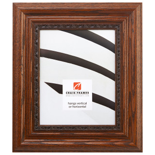 "Bunker Hill 2.75"", Quarter-sawn Oak Picture Frame"