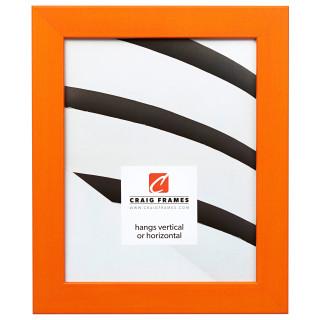 """Colori 125 1.25"""", Orange Picture Frame"""