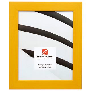 "Colori 125 1.25"", Yellow Picture Frame"