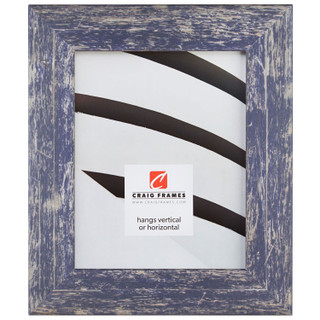 """American Barn 2"""", Independence Blue Picture Frame"""