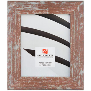 """American Barn 2"""", Red Picture Frame"""