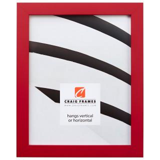 "Confetti .875"", Red Picture Frame"