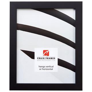 """Confetti .875"""", Black Picture Frame"""