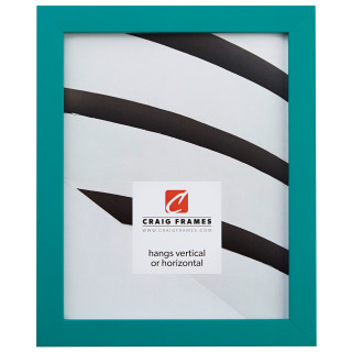 """Confetti .875"""", Teal Blue Picture Frame"""